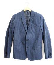 DOLCE & GABBANA(ドルチェアンドガッバーナ)の古着「ストライプ2Bジャケット」