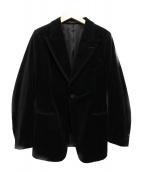 JUN MIKAMI(ジュン ミカミ)の古着「ベロアジャケット」|ブラック