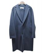 GALERIE VIE(ギャルリーヴィー)の古着「ジャージーチェスターコート」|ネイビー
