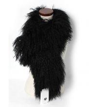 CHARLOTTE SIMONE(シャーロット シモーヌ)の古着「ファーストール」|ブラック