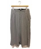 sulvam(サルバム)の古着「18SS/レイヤードスカートパンツ」