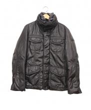PEUTEREY(ピューテリー)の古着「ダウンジャケット」|ブラック