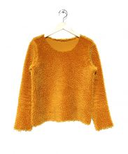 mina perhonen(ミナペルフォネン)の古着「パイルフリースカットソー」