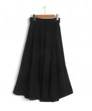 OBLI(オブリー)の古着「フレアスカート」|ブラック