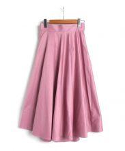 OBLI(オブリー)の古着「フレアスカート」|ピンク