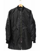 ALPHA(アルファ)の古着「ロングMA-1ジャケット」