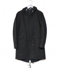 SHIPS(シップス)の古着「メルトンモッズコート」|ブラック