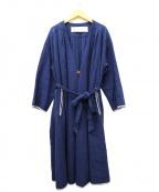 latelier du savon(アトリエドゥサボン)の古着「ガウンコート」