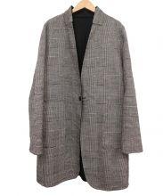 K.T KIYOKO TAKASE(ケーティー キヨコタカセ)の古着「リバーシブルコート」|ブラック