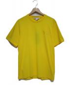 Y-3(ワイスリー)の古着「Basic Logo T-Shirt トップス」 イエロー