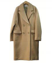 LEST ROSE(レストローズ)の古着「リバーメルトンチェスターコート」