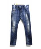 DIESEL(ディーゼル)の古着「ジョグデニムパンツ」 インディゴ