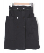Jean-Paul Knott(ジャンポールノット)の古着「タイトスカート」|ブラック
