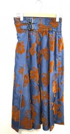 Lily Brown(リリー ブラウン)の古着「フラワーフロッキーラップスカート」