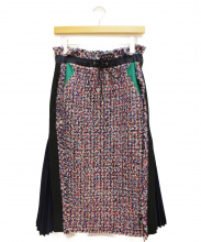 sacai(サカイ)の古着「MIXツイードスカート」