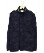 Brilla per il gusto(ブリッラペルイルグスト)の古着「ボタニカルM65ジャケット」 ネイビー