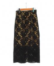 FRAY ID(フレイアイディー)の古着「レースフロッキースカート」