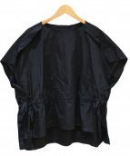 ADORE(アドーア)の古着「コンパクトシャーリングブラウス」|ブラック