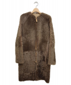 CELINE(セリーヌ)の古着「リバーシブルムートンコート」