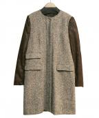 MARELLA(マレーラ)の古着「ノーカラーコート」