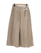 ONEIL OF DUBLIN(オニールオブダブリン)の古着「リネンワイドプリーツスカート」