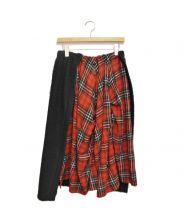 REGULATION Yohji Yamamoto(レギュレーション ヨウジヤマモト)の古着「切替スカート」