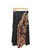 Y's Purple Label(ワイズパープルレーベル)の古着「デザインスカート」