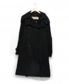 BURBERRY LONDON(バーバリーロンドン)の古着「ナイロントレンチコート」 ブラック
