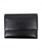 Valextra(ヴァレクストラ)の古着「3つ折り財布」