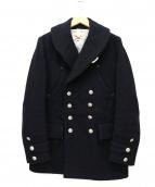 HAVERSACK(ハバーザック)の古着「メルトンPコート」