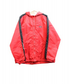 X-GIRL(エックスガール)の古着「フードブルゾン」|レッド