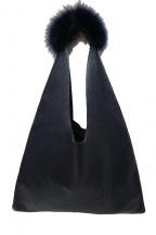 ARRON(アローン)の古着「ファー付ワンショルダーバッグ」