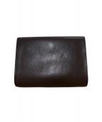 postalco(ポスタルコ)の古着「2つ折り財布」|ブラウン