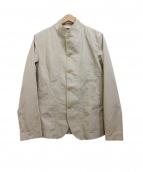 MACKINTOSH PHILOSOPHY(マッキントッシュフィロソフィー)の古着「4Bコットンツイルジャケット」|ベージュ