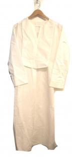 PLAIN PEOPLE(プレインピープル)の古着「ダブルクロスワンピース」