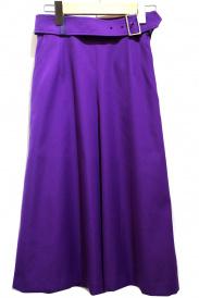 ELENDEEK(エレンディーク)の古着「トラペゾイドベルトスカート」