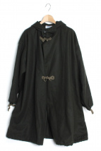 Yarmo(ヤーモ)の古着「ウールメルトンジャケットコート」|カーキ