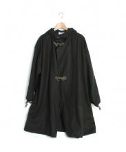 Yarmo(ヤーモ)の古着「ウールメルトンジャケットコート」
