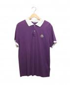 MONCLER(モンクレール)の古着「ポロシャツ」|パープル