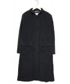 MAXMARA(マックスマーラ)の古着「ウールスタンドカラーロングコート」