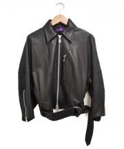 Y's Purple Label(ワイズパープルレーベル)の古着「レザージャケット」