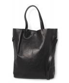 bajra(バジュラ)の古着「レザートートバッグ」|ブラック
