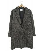 BEAUTY&YOUTH(ビューティアンドユース)の古着「ヘリンボーンツイードコート」