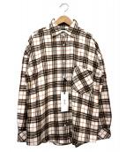 YANUK(ヤヌーク)の古着「チェックシャツ」