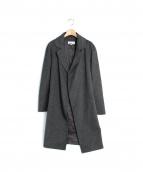JUNKO SHIMADA(ジュンコシマダ)の古着「カシミヤチェスターコート」|グレー