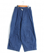 Needles(ニードルス)の古着「ヒザデルパンツ」|ブルー