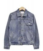 upper hights(アッパーハイツ)の古着「デニムジャケット」|ブルー