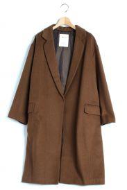 Lisiere(リジェール)の古着「カシミヤブレンドリラックスコート」