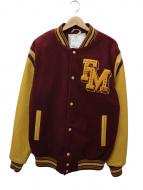 Franklin & Marshall(フランクリン&マーシャル)の古着「袖レザースタジャン」