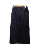 DRESSTERIOR(ドレステリア)の古着「ラウンドネスフォルムスカート」|ネイビー